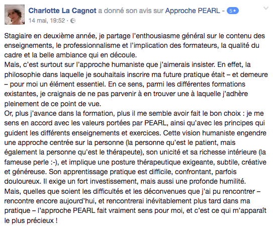 Avis_Formation_psychotherapie_Approche_PEARL_Charlotte