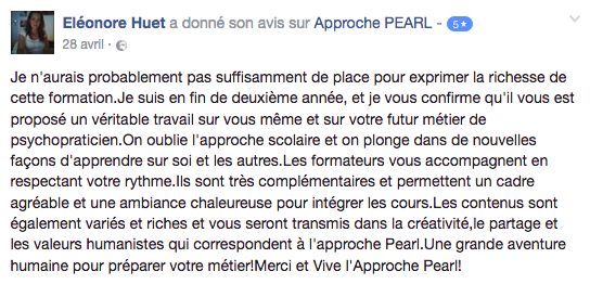 Avis_Formation_psychotherapie_Approche_PEARL_Eléonore