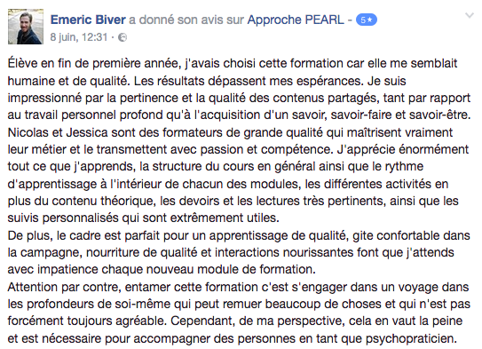 Avis_Formation_psychotherapie_Approche_PEARL_Emeric